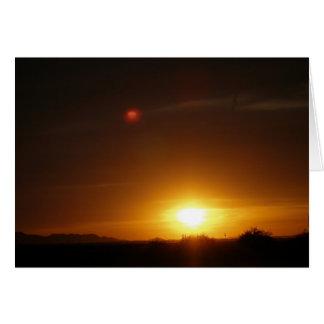 Sunset Stationery Note Card