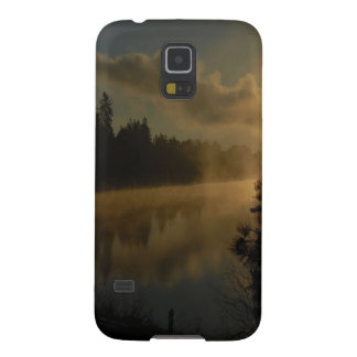 Sunset Steamy Shadow Cases For Galaxy S5