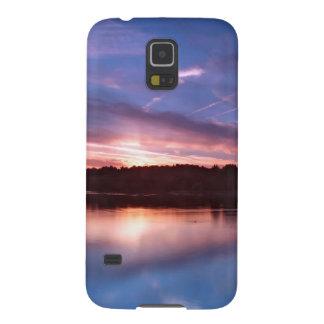Sunset Still Lake At Dusk Galaxy Nexus Case