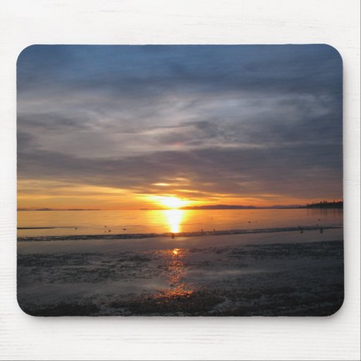 Sunset Storm Mouse Pad