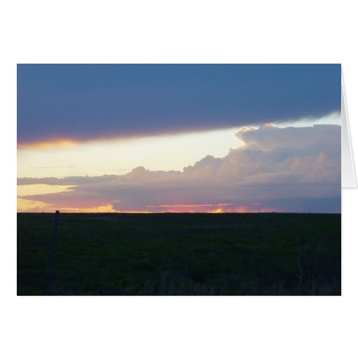 Sunset Storm Showdown Card