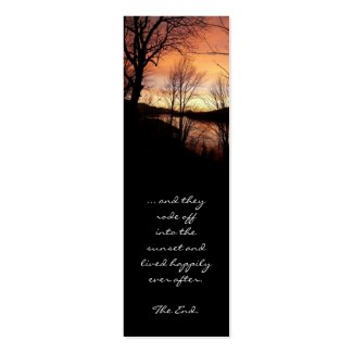 Sunset Story Bookmark profilecard