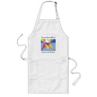 Sunset Strait Ahead Long Apron