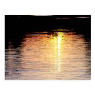 Sunset Streaks Postcard