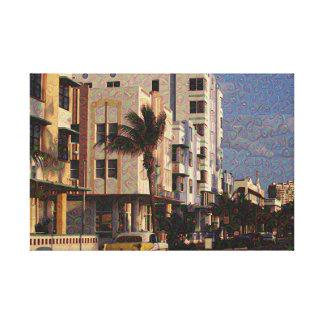 Sunset Strip - Dream App Canvas Print