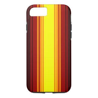 Sunset stripe pattern case