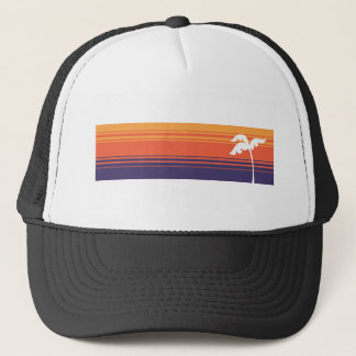 Sunset Stripes Trucker Hat