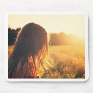 sunset style photography design mouse pad