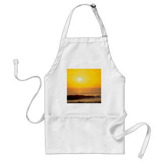Sunset Sun Kissed Waves Kauai Hawaii Adult Apron
