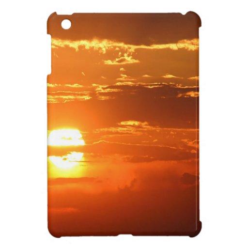 Sunset Sunbeam Sky iPad Mini Cover
