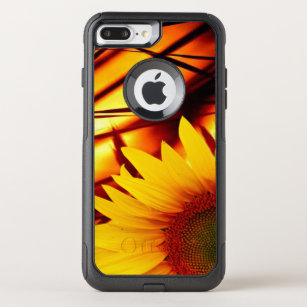 new product 72b75 ad234 Sunset & sunflower OtterBox commuter iPhone 8 plus/7 plus case