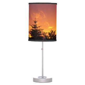 Sunset sunray lamp