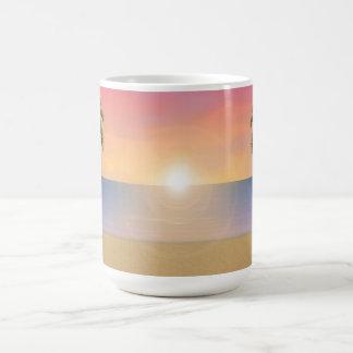 Sunset / Sunrise Beach Scene: Mug
