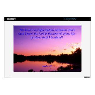 Sunset sunrise Psalms Purple Decals For Laptops