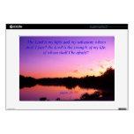 "Sunset sunrise Psalms Purple Skin For 15"" Laptop"