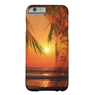 Sunset Surf Barely There iPhone 6 Case