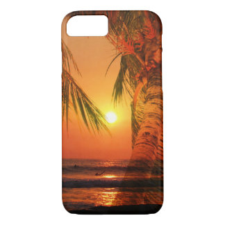 Sunset Surf iPhone 7 Case