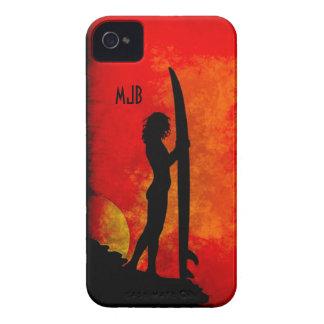Sunset Surfer Girl Blackberry Bold Covers