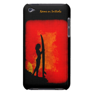 Sunset Surfer Girl iPod Touch Cover
