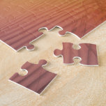 Sunset Surfer Sand and Clouds Art Puzzle