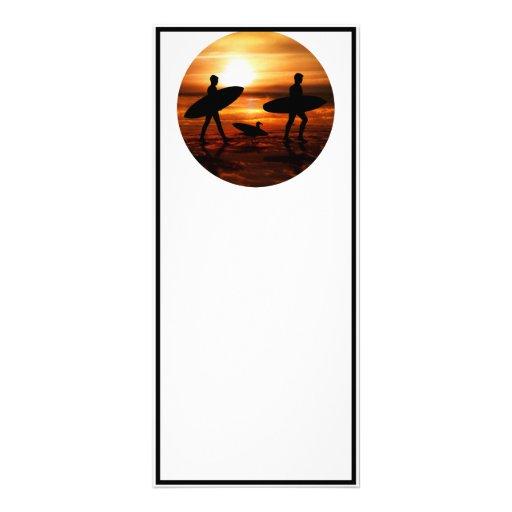 Sunset Surfers Custom Rack Card