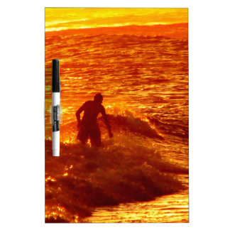 Sunset Surfing Dry-Erase Whiteboards