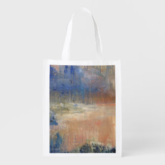 Sunset Swamp Grocery Bag