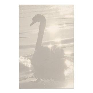 Sunset Swan Stationery
