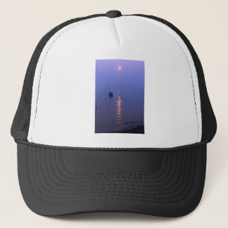 Sunset Swim Trucker Hat