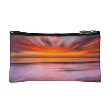 Sunset Tamarack Beach | Carlsbad, CA Makeup Bag