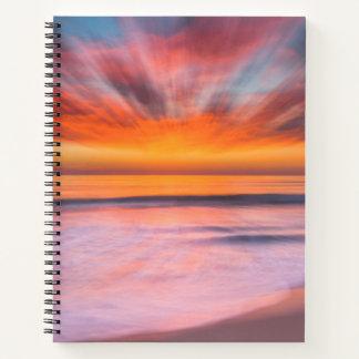 Sunset Tamarack Beach | Carlsbad, CA Notebook