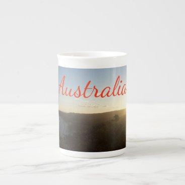 Beach Themed Sunset Tea Cup