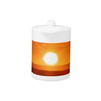 Sunset Teapot