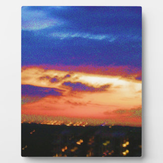 SUNSET TEMPLATE Resellers Customers add text image Display Plaque