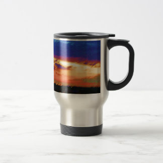 SUNSET TEMPLATE Resellers Customers add text image Travel Mug
