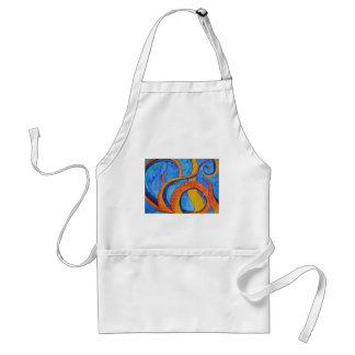 Sunset Tentacles Adult Apron