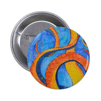 Sunset Tentacles Pinback Buttons