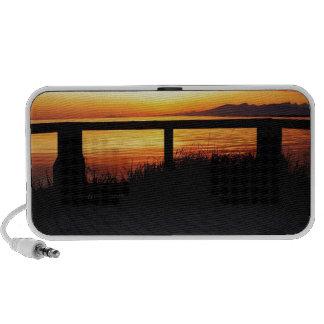 Sunset Terraced Horizon Portable Speaker