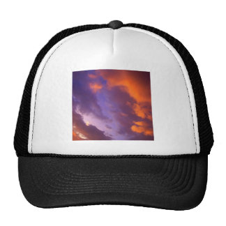 Sunset The Blue Divide Trucker Hat