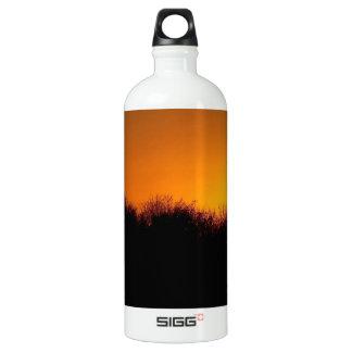Sunset The Brilliant Sun Aluminum Water Bottle