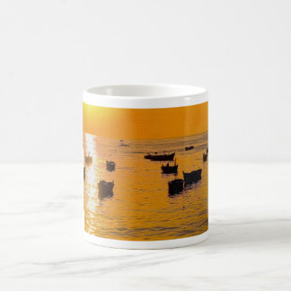 Sunset - the image is artistic effects coffee mug