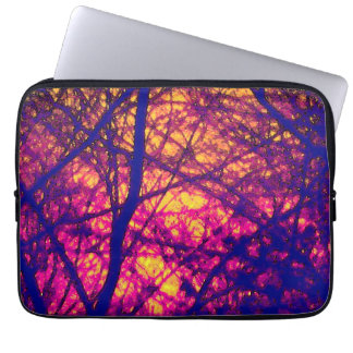 "Sunset Through Branches 13"" Laptop Sleeve"