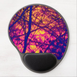 """""""Sunset Through Branches"""" Gel Mouse Pad"""