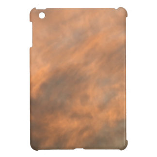 Sunset through clouds. iPad mini cover
