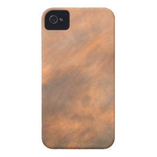 Sunset through clouds. iPhone 4 case