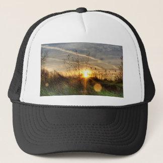 Sunset Through the Glass Trucker Hat