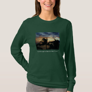Sunset through the Palms T-Shirt