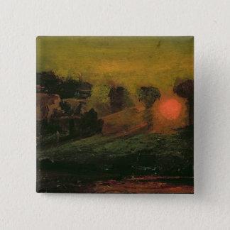 Sunset through Trees, c.1855 Button