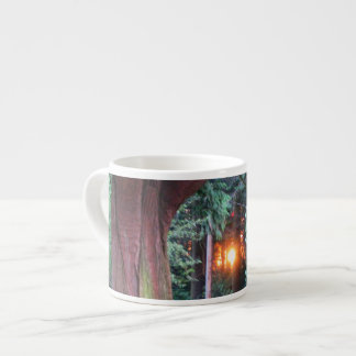Sunset Through Trees Espresso Cup