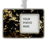 Sunset Through Trees I Tropical Photography Christmas Ornament